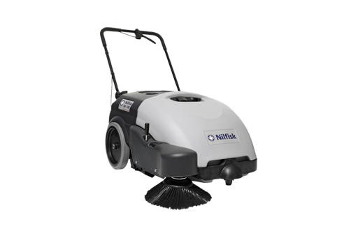 Sweeper Walk Behind Battery Operated