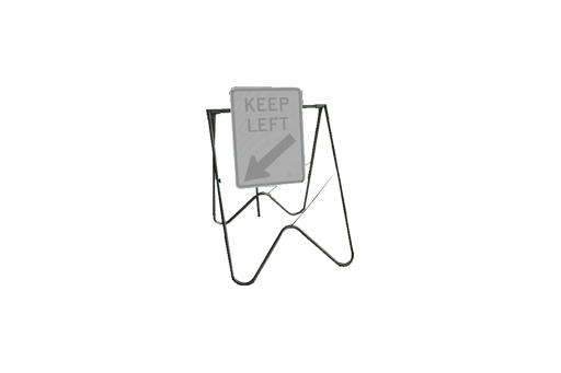 ROAD SIGN BIPOD STAND