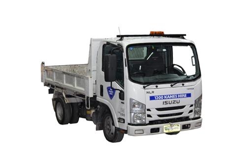 Truck 4x4 Tipper Small Hiab Dry Hire +Tolls + KM