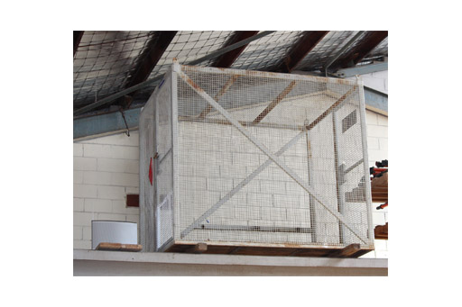 Cylinder Cage Craneable 2.5mtr Lx1.9mtr Wx2.1mtr H