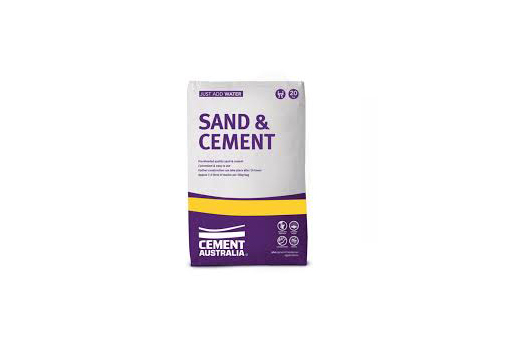 SAND AND CEMENT MIX